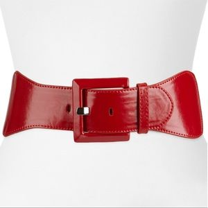 Apr 9 wide stretch belt Red
